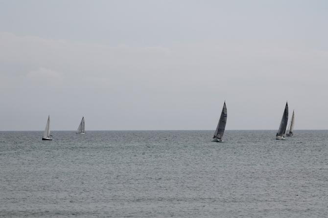 Las embarcaciones recorrieron las aguas de Benicarló y Peñíscola